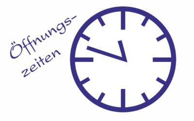 Öffnungszeiten