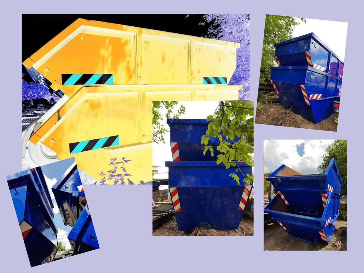 Container 10m³ für Sperrmüll, Grünabfall, Holz und Baumisch
