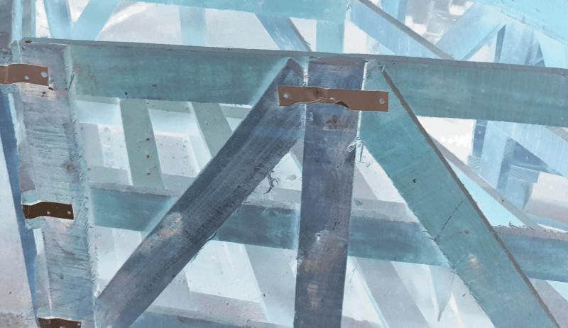 Aussenholz und Althölzer vom Dachstuhl