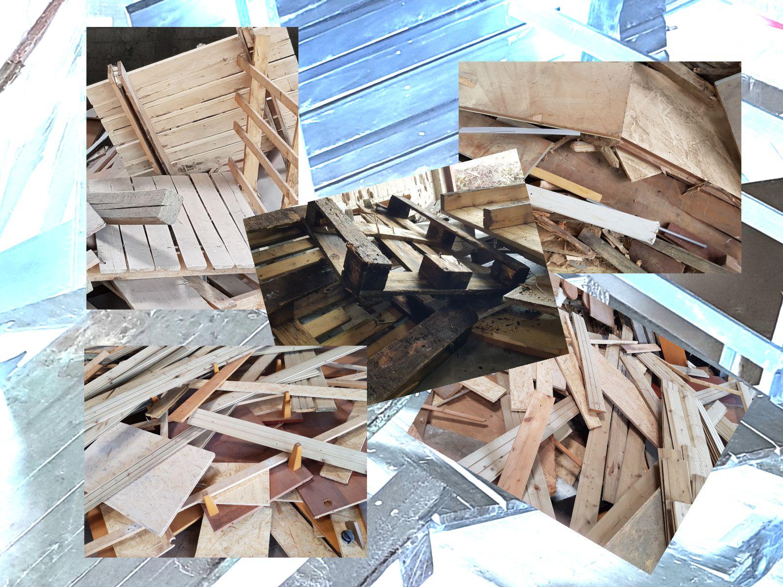 Annahme von Altholz zur Verwertung