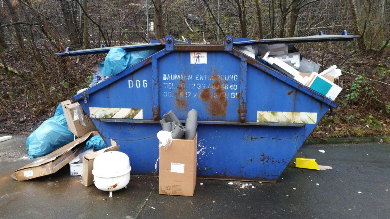 7m3 Deckelcontainer Mischmüll aus der Region