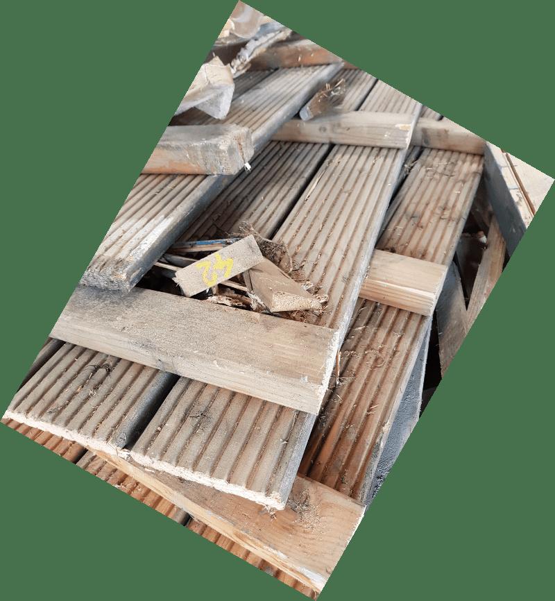 Altholz Preis für Anlieferung oder Container